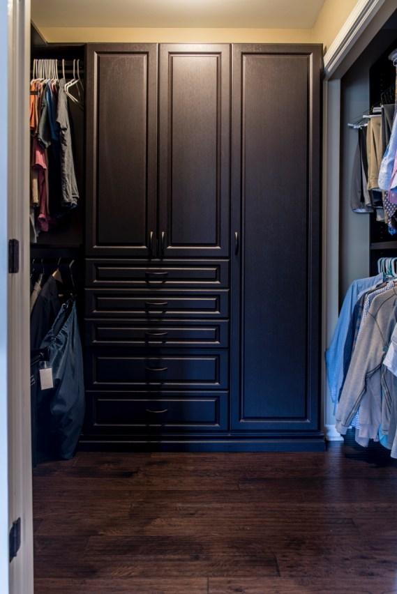 Master custom closet 2