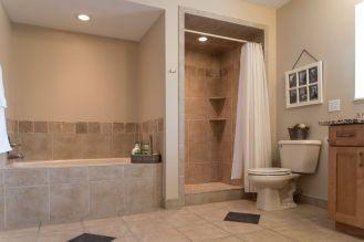 41 Bath3 floor, shower