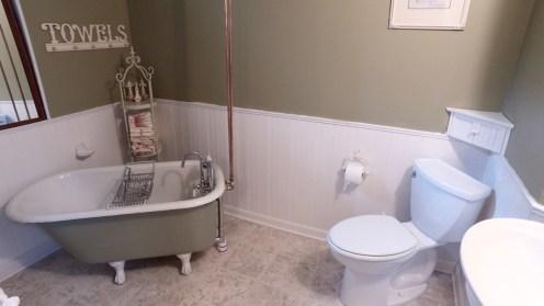 Basement full bath