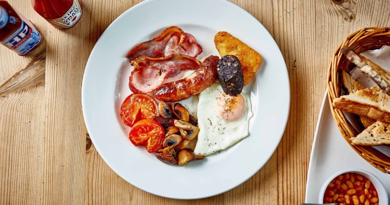 Moor Breakfast with Exmoor wine producer