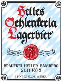 Helles Schelenkerla Lagerbier, 500ml