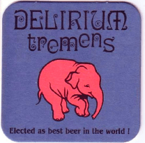 Delerium (Strong), 330ml, 9.0% or 3.0 units - Pink elephant powerhouse
