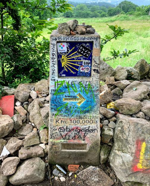 Camino De Santiago: 100km to go
