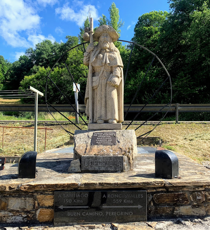 Camino De Santiago: St. James Statue