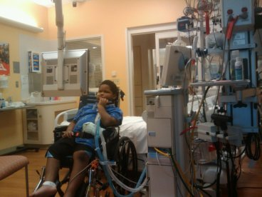 Xzavier Davis-Bilbo was paralyzed by a distracted driver.