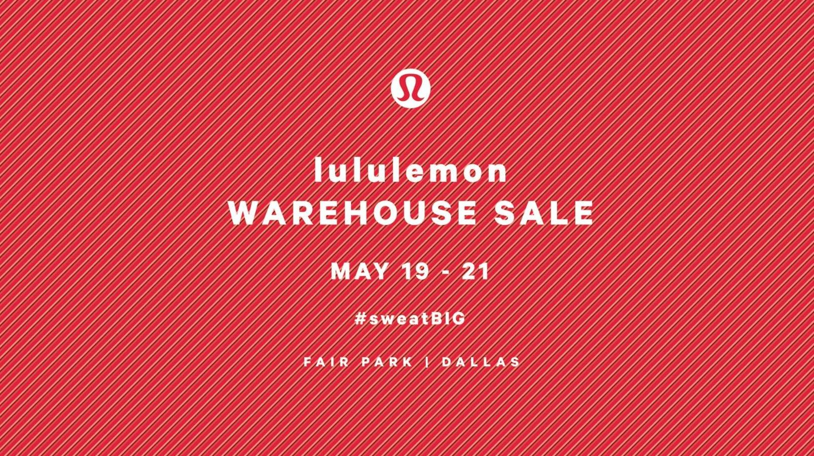 Lululemon Warehouse Sale 2017