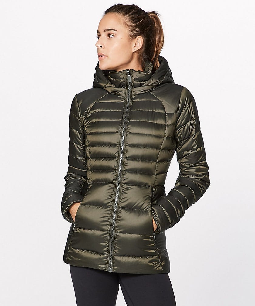 Down For It Jacket Dark Olive