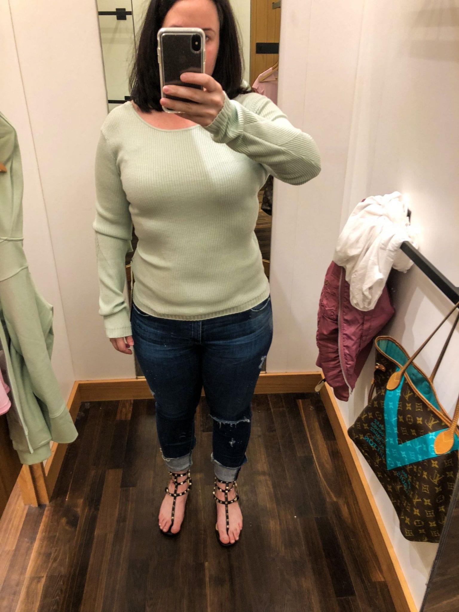 Wrap It Back Sweater