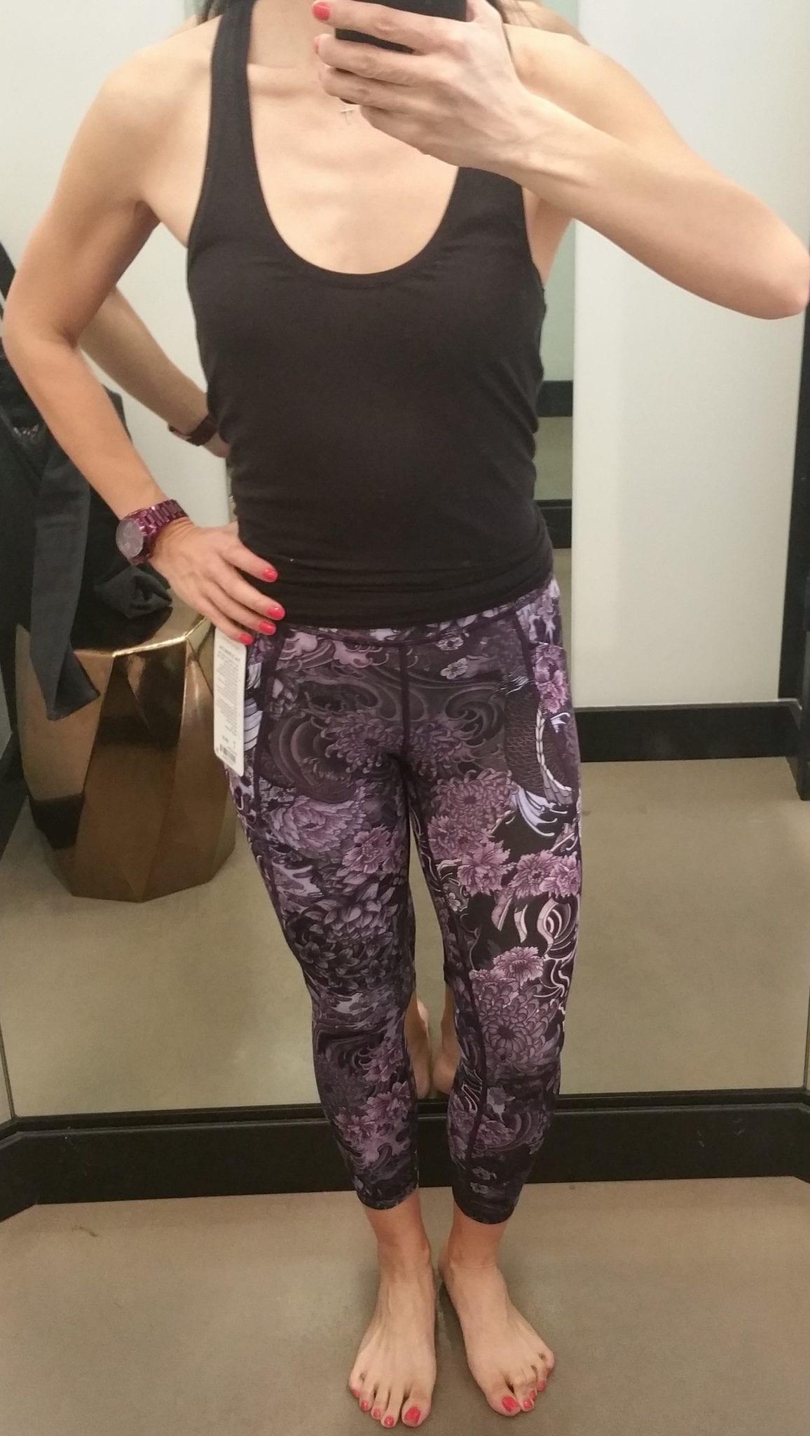 Time to Sweat Crop in Memoir Multi Purple