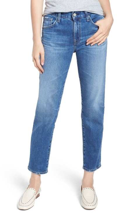 AG Ex-Boyfriend Relaxed Slim Jeans (15 Years Blue Shift)