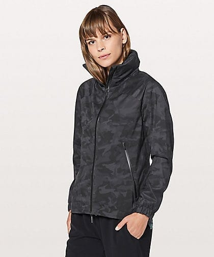 Incognito Camo Multi Grey Here To Move Jacket Lululemon