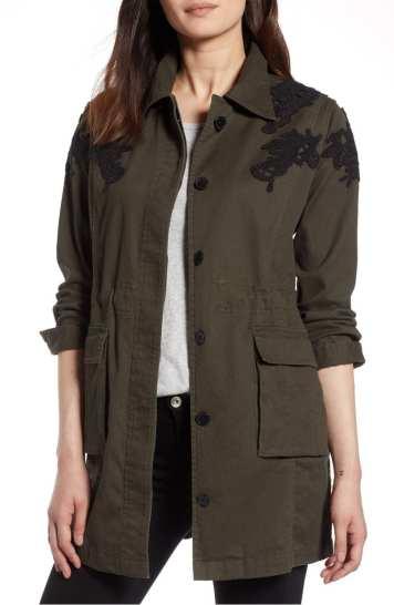 Lace Defail Jacket Halogen