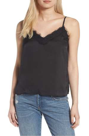Lace Trim Satin Camisole BP.