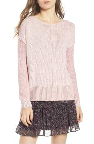 Lola Reversible Twist Sweater REBECCA MINKOFF