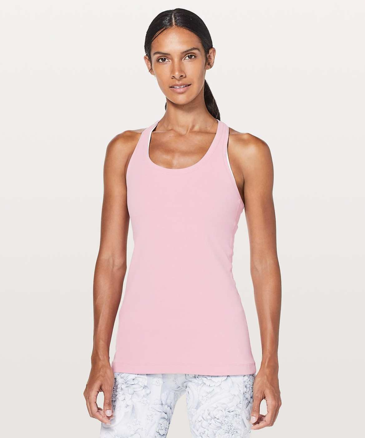 Lululemon - Cool Racerback II Nulu, Rose Tea