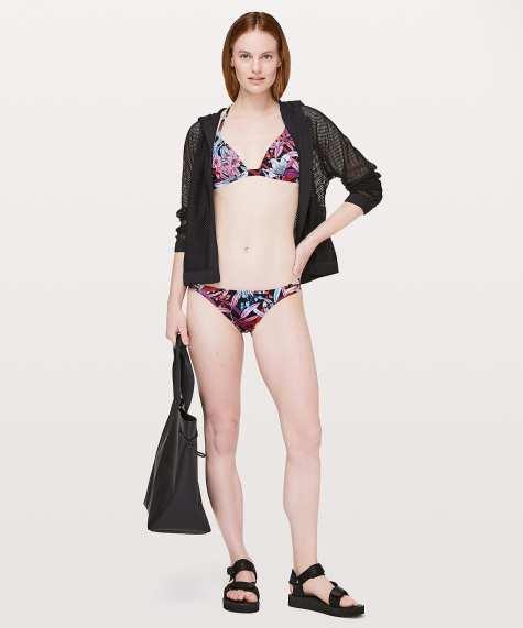 Lululemon Shoreline Bikini Lush Lilies Multi