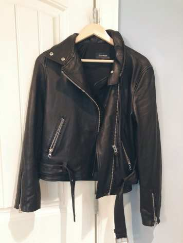 Your Shopping Snitch: My Tips And Tricks To Shop Like A Pro - Leather Biker Jacket