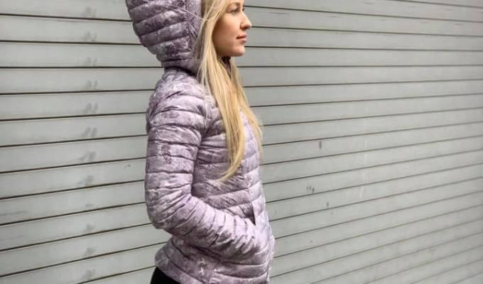 Pack It Down Again Jacket, Elevation Pink Multi