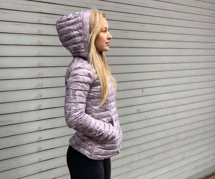 Pack It Down Again Jacket, Elevation Pink Multi