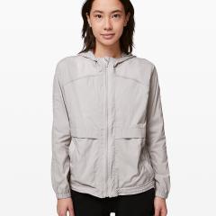 Hood Lite Jacket Chrome