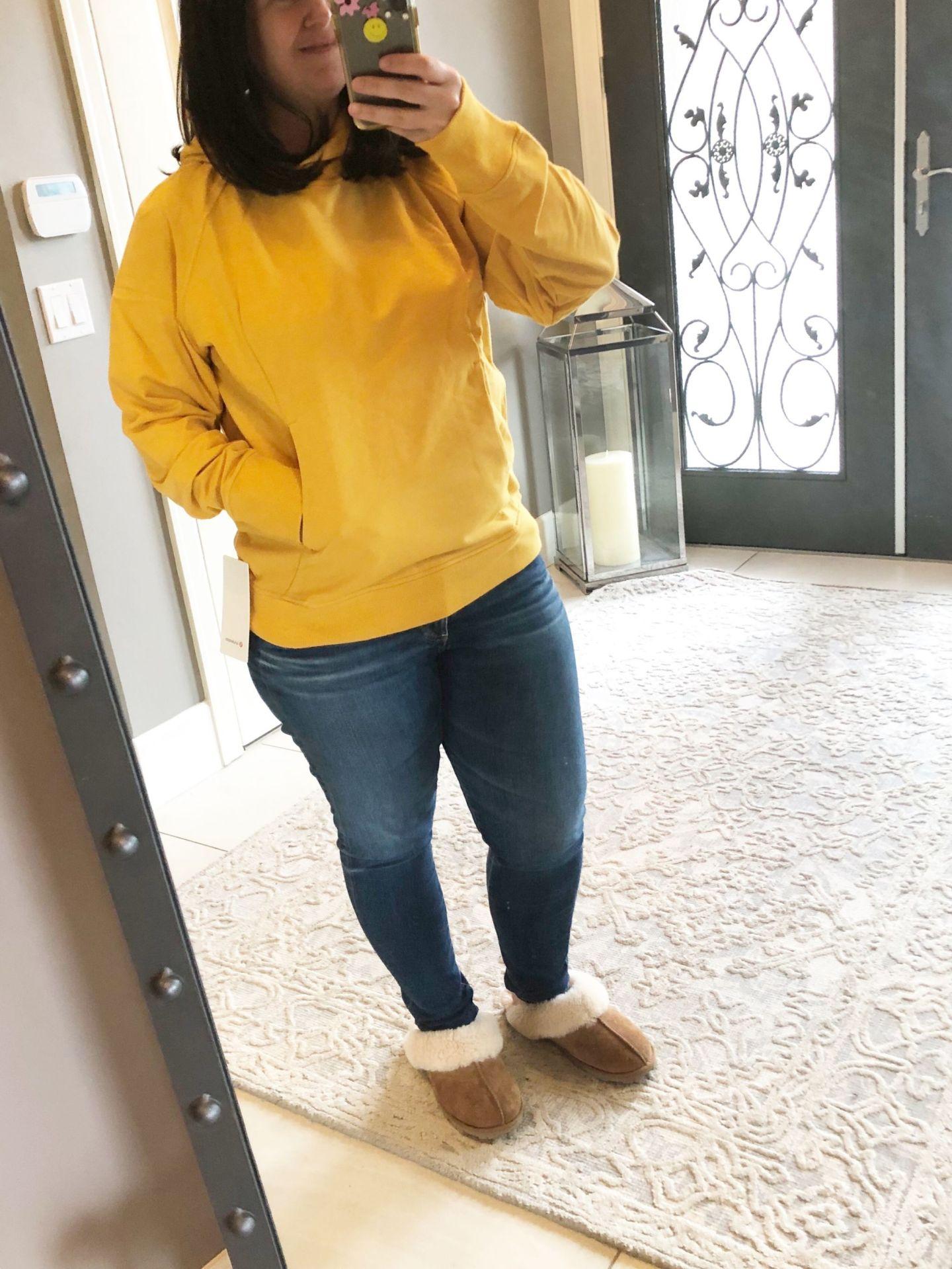 Scuba Pullover, Honey Lemon