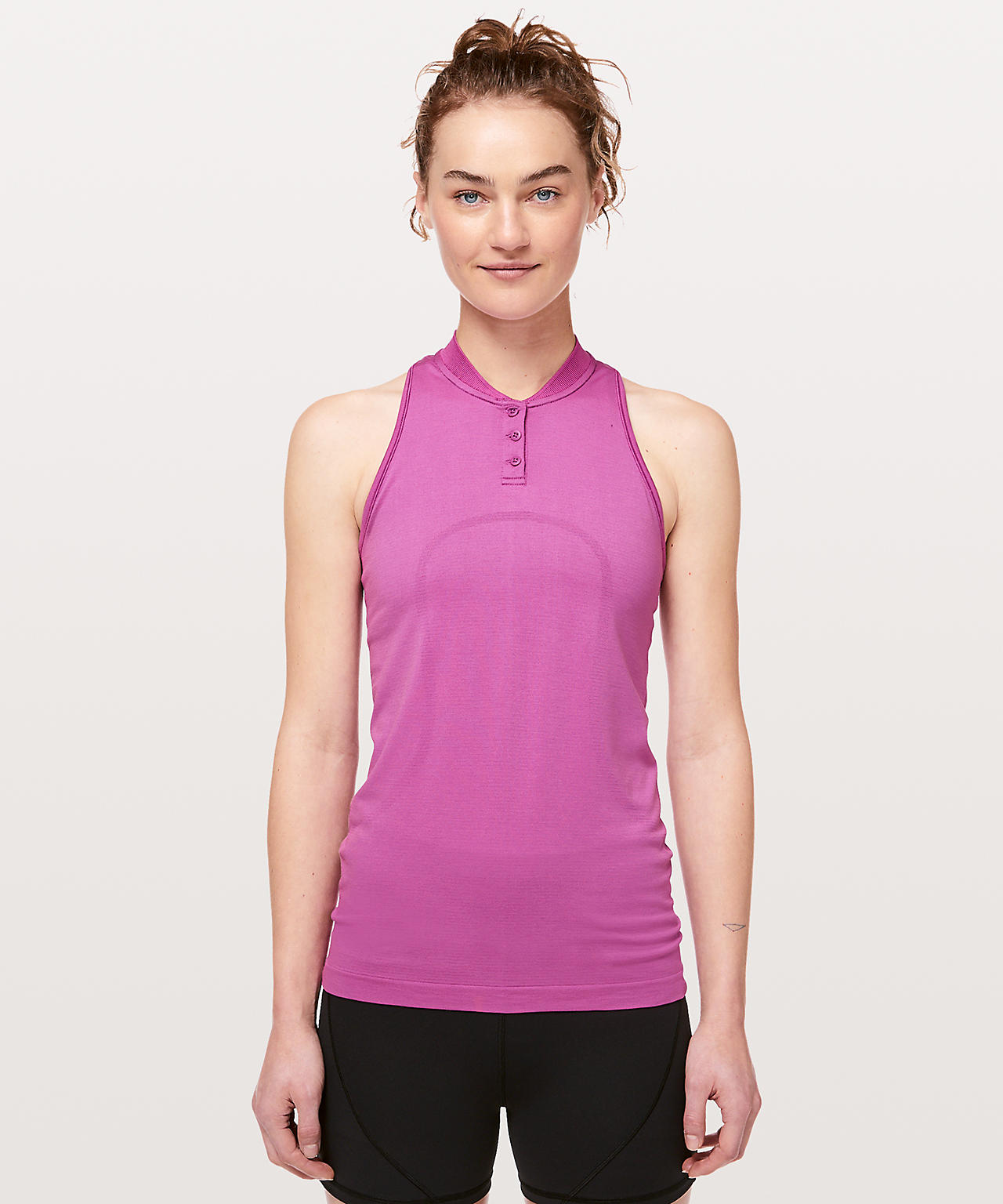 Swiftly Speed Sleeveless Henley