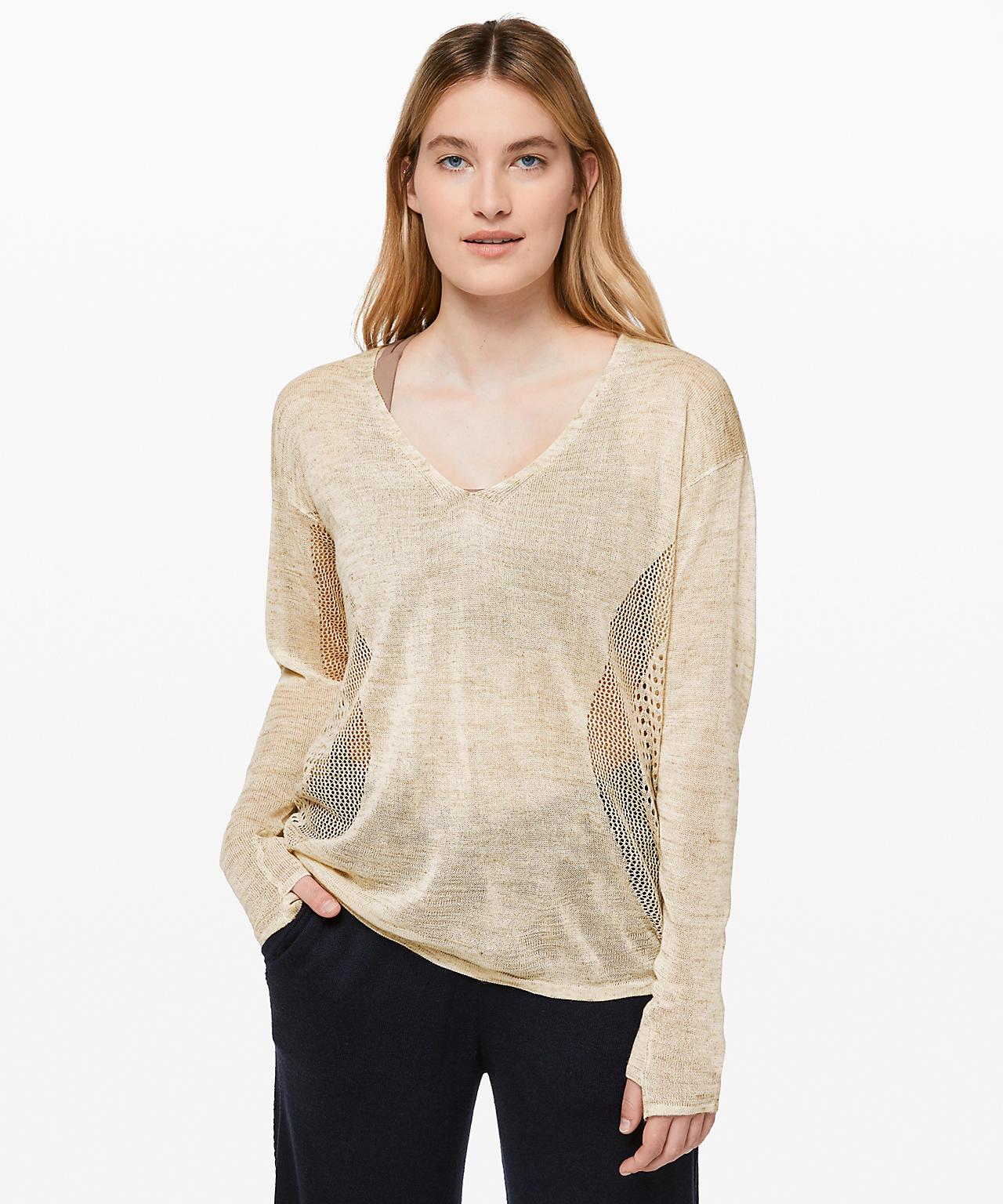 Still Movement Sweater, Lululemon