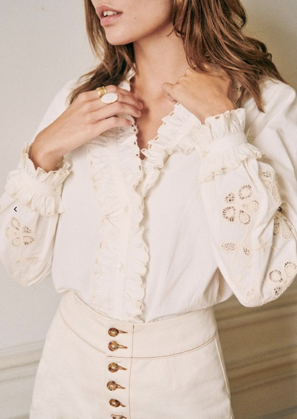 Sezane Kelly Blouse