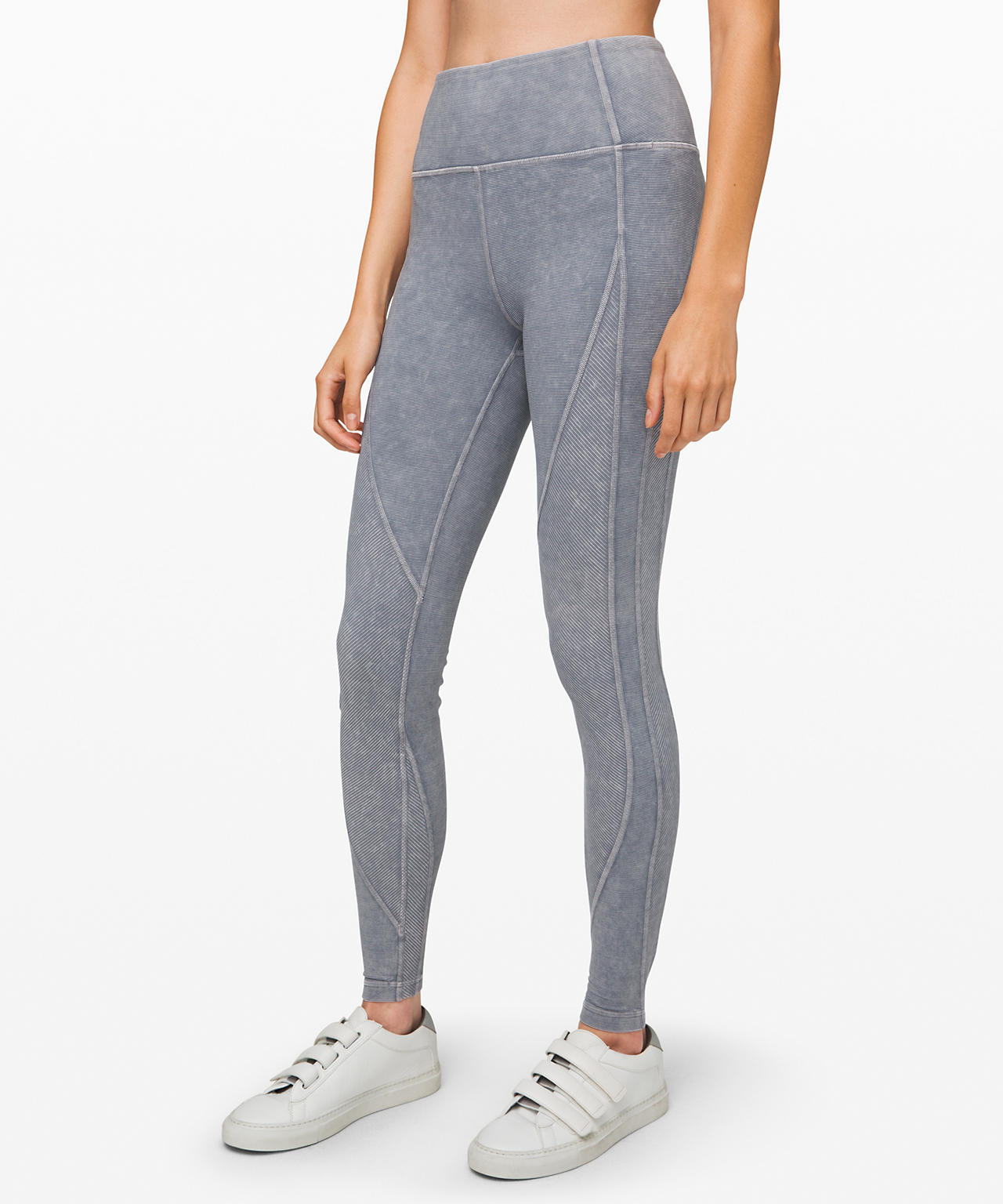 Wunder Under High-Rise Tight  Snow Washed Ribbed