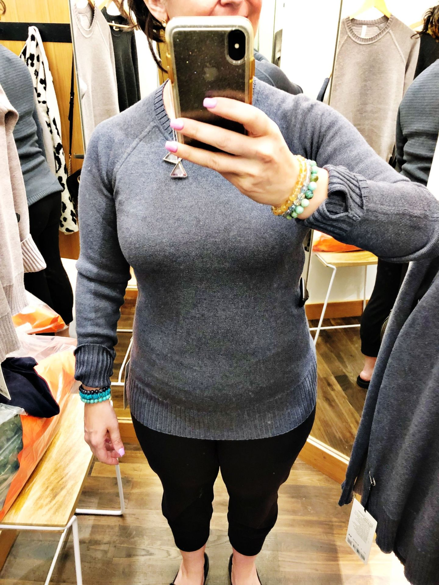 Lululemon Try-Ons and Fit Review Still Lotus Sweater  Reversible