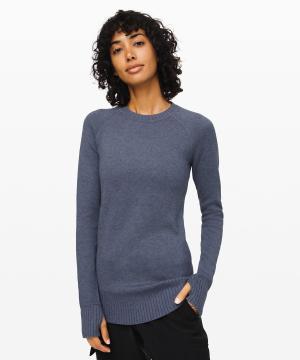 Still Lotus Sweater  Reversible