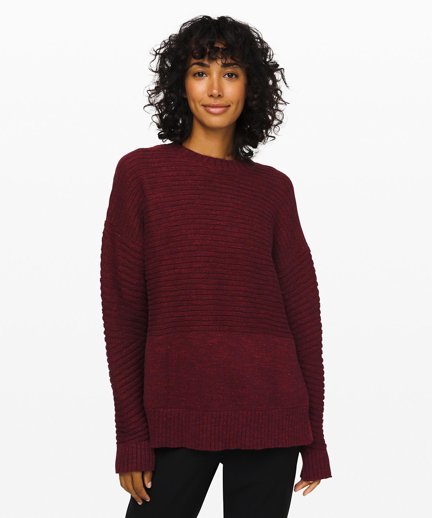 As Promised Crew Sweater