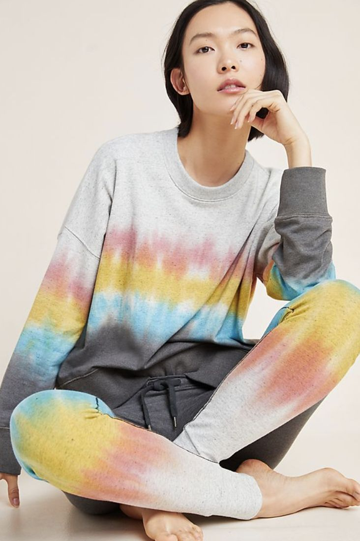 The Fashion That Is Trending During Quarantine, Tie Dye Sweatsuits Are Trending During Quarantine