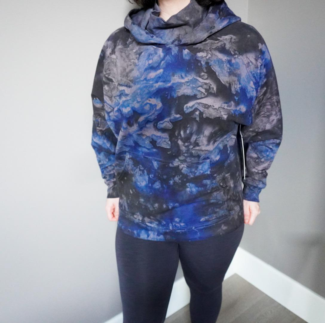 Self-Isolation Fashion Trends | Tie-Dye Sweatshirt by Lululemon Part 2