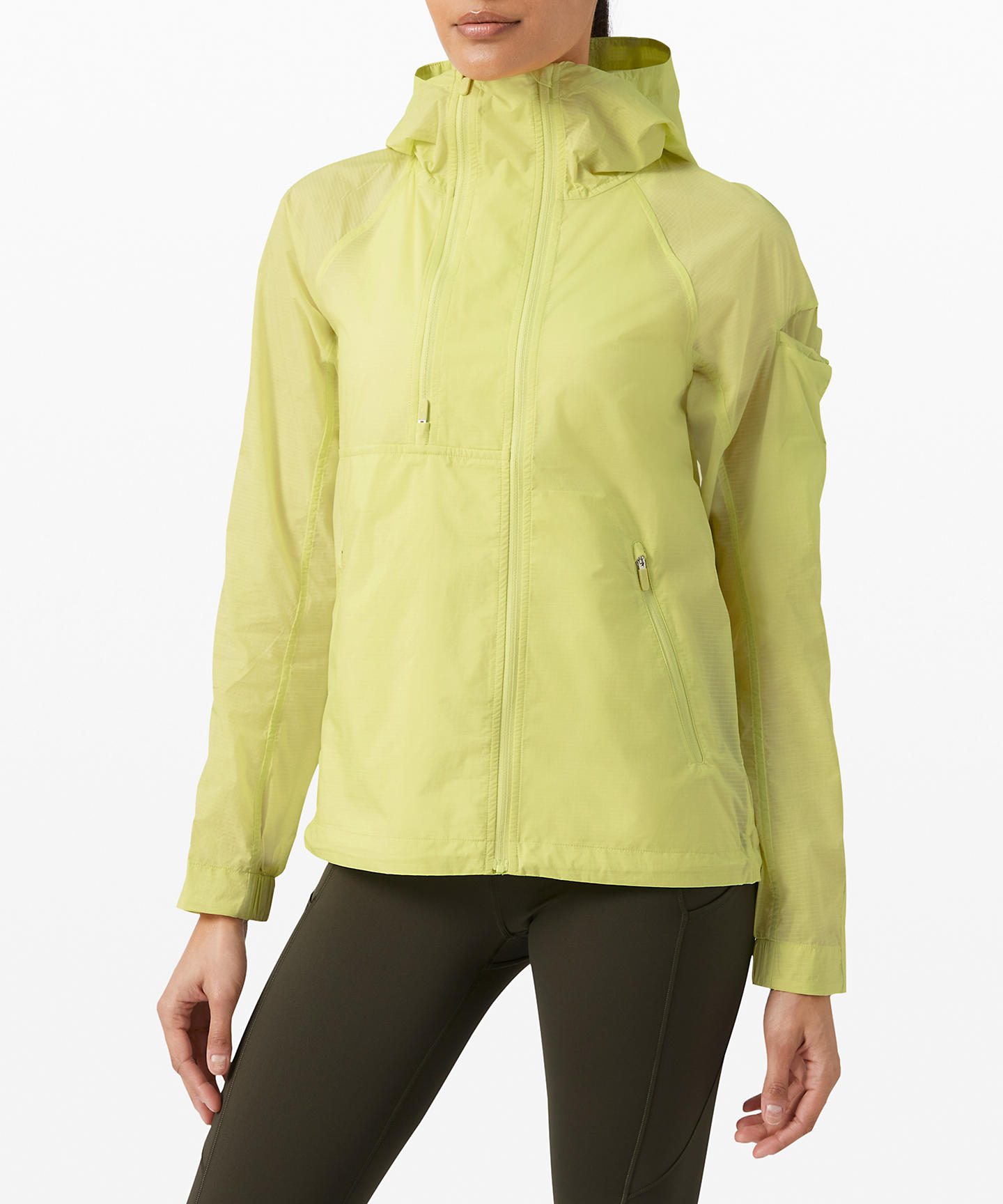 lululemon upload_On the Trails Jacket_Lemon Vibe