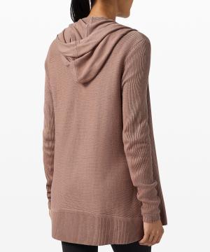 Sundown Sweater Wrap_soft sand