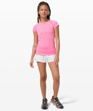 Swiftly Tech Short Sleeve 2.0 dark prism pink 2