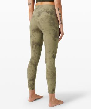 Lululemon Align Pant II Diamond Dye Vista Green Medium Olive 2
