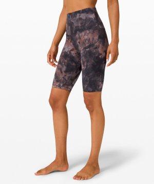 align shorts-diamind dye graphite grey pink pastel