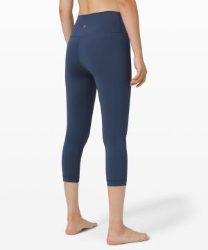 Wunder Under Crop (High-Rise) Full-On Luxtreme 21 Iron Blue 3