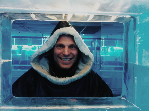 Ice Bar in Stockholm
