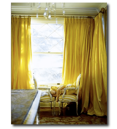 Yellow Silk Curtains BestCurtains