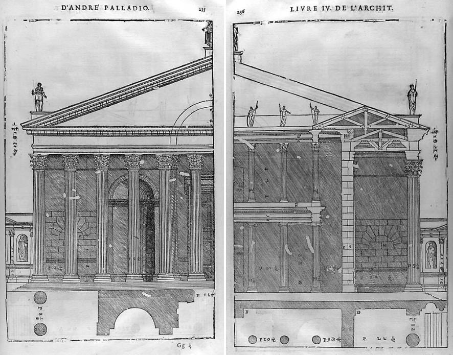 les quatre livres de l architecture d andrea palladio the swedish parrot. Black Bedroom Furniture Sets. Home Design Ideas