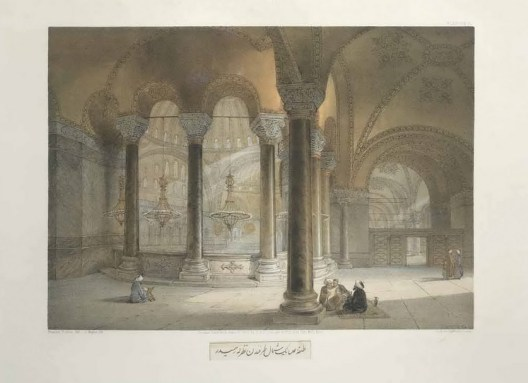 Gaspare Fossati - Aya Sofia of Constantinople - London (1852) - 018