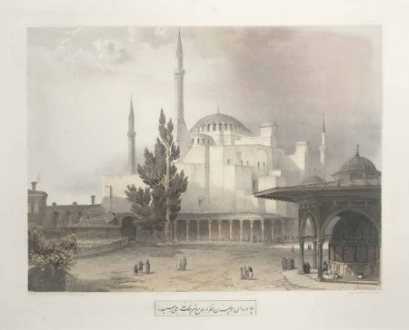 Gaspare Fossati - Aya Sofia of Constantinople - London (1852) - 022