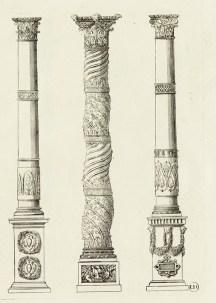 1 - Jacques Ier Androuet du Cerceau - Petit traité des cinq ordres de colonnes