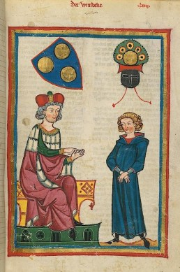 Codex Manesse - page 213r