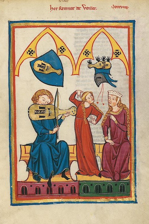 Codex Manesse - page 312r
