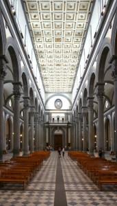 San Lorenzo - intérieur - nef