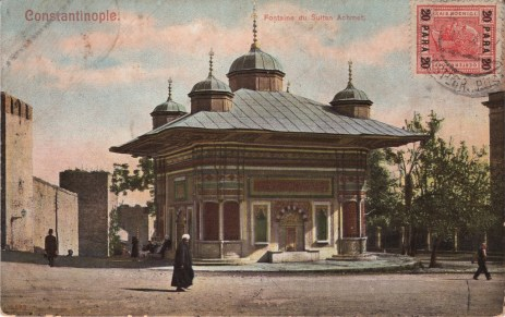 Vieilles cartes postales - Istanbul - 02 - Fontaine d'Ahmet III